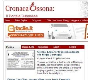 I risultati di Cronaca Ossona