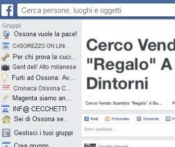 cornicefbOK22 Busto Garolfo ha il suo mercatino online su Facebook Piazza Litta Prima Pagina