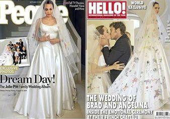 Angelina Jolie e Brad Pitt finalmente sposi