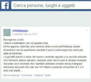 Casorezzo, risolto con Facebook il caso delle merendine