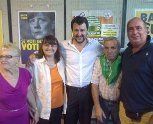 A Castano PrimoMatteo Salvini per l'indipendenza