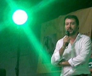 Quando Matteo Salvini sale al Monviso...