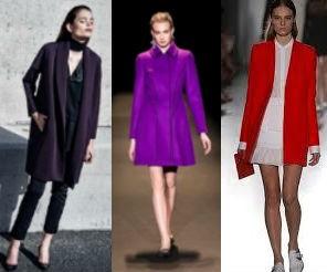 I cappotti colorano la moda dell autunno e inverno 2014 - 2015