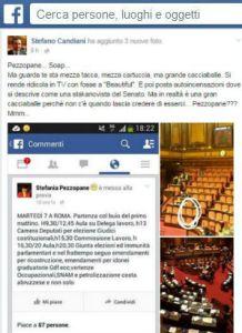 Palazzo Madama: Stefano Candiani, Lega Nord, scopre gli altarini della Pezzopane