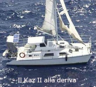 Il Kaz II alla deriva