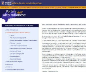 Terza carica per il sindaco di Inveruno: è il presidente della conferenza dell'Altomilanese