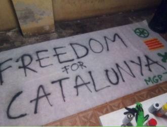 I giovani del Ticino a sostegno delle Catalogna indipendente