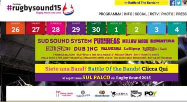 Parabiago Rugby Sound. Caparezza primo ospite