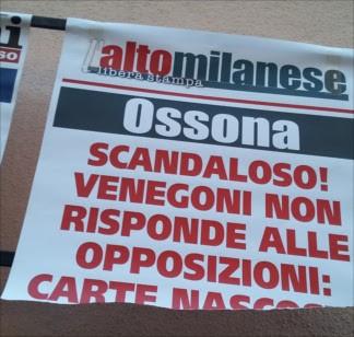 sindacolettera La locandina, l'ha strappata il sindaco? Politica Prima Pagina