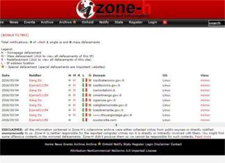 ZoneH Zone H. La stretta intorno agli hacker delle scuole Piazza Litta Prima Pagina