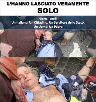 gianni-tonelli Un poliziotto fa lo sciopero della fame da 43 giorni. Sai perchè? Piazza Litta Prima Pagina