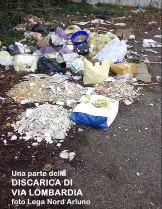 discaricaarluno2 Lega Nord Arluno. Basta discariche a cielo aperto Politica Prima Pagina