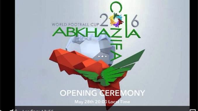 mondiali di calcio nazioni senza stato abkhasia 2016