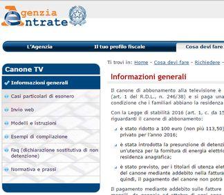 Canone rai le ultime novit co news for Plico raccomandato senza busta canone rai