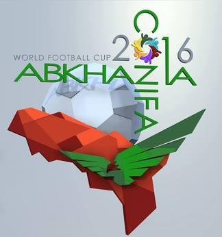 Mondiali di calcio abcasia, logo