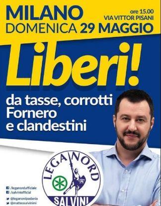 matteosalvini 29 maggio. Festa della Lombardia Politica Prima Pagina