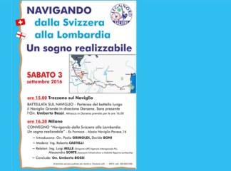 batelada2-324x240 Mini batelada con Umberto Bossi. Navigando sul Naviglio Politica Prima Pagina