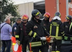 vigili del fuoco fuga di gas ossona rep
