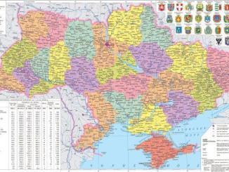 cartina-ucraina-1 Ukraina, oltre la retorica Economia e lavoro Prima Pagina