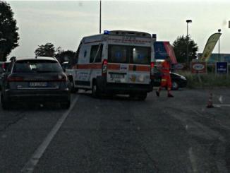 Ossona, incidente auto moto