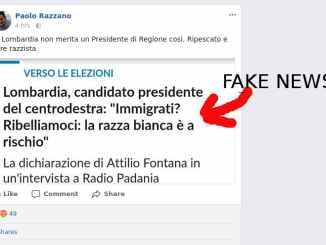 Paolo Razzano e le Fake News
