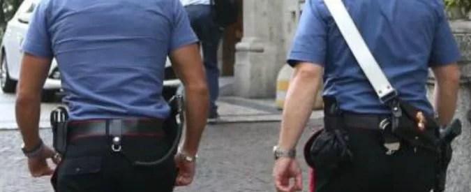 Foto LaPresse - Stefano Porta 10/07/2017 Milano ( Mi ) Cronaca Carabinieri davanti alla Clinica Mangiagalli dopo il tentativo di rapimento di un bambino