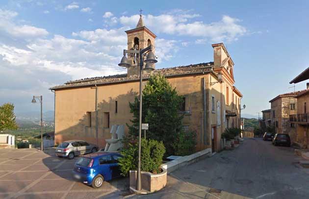 Mette in vendita su internet una Chiesa del XVII sec Denunciato per truffa 28enne di Veroli