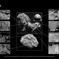 Le nuove foto della cometa di Rosetta in HD