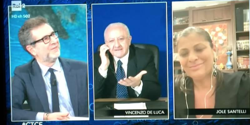 De Luca a Fazio:
