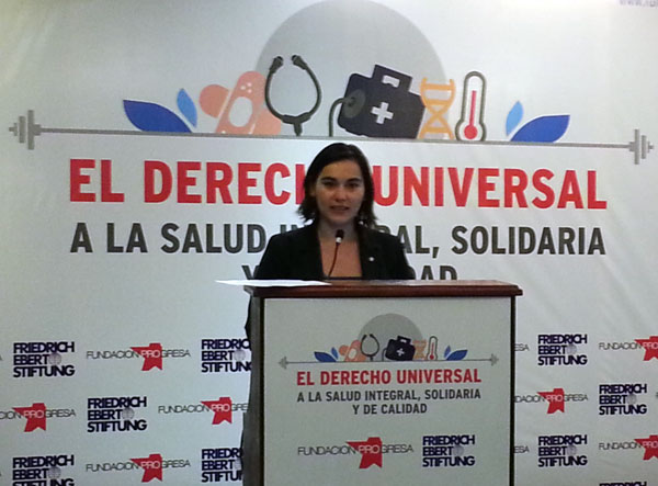 Izkia Siches es la nueva presidenta del Colegio Médico