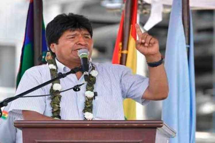 Morales critica actitud de Trump sobre Venezuela