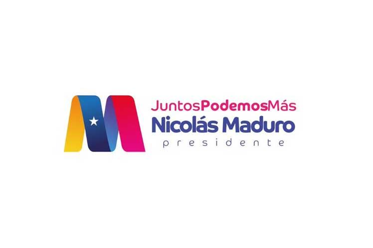 Maduro reveló el logo de su campaña presidencial