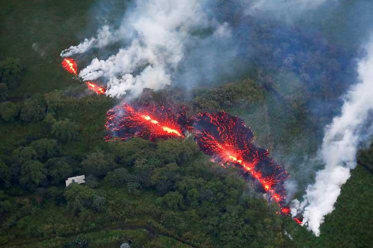 Alerta roja en Hawai ante la inminente erupción del volcán Kilauea