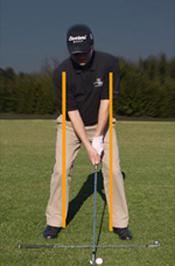 Los ejes del swing en el golf