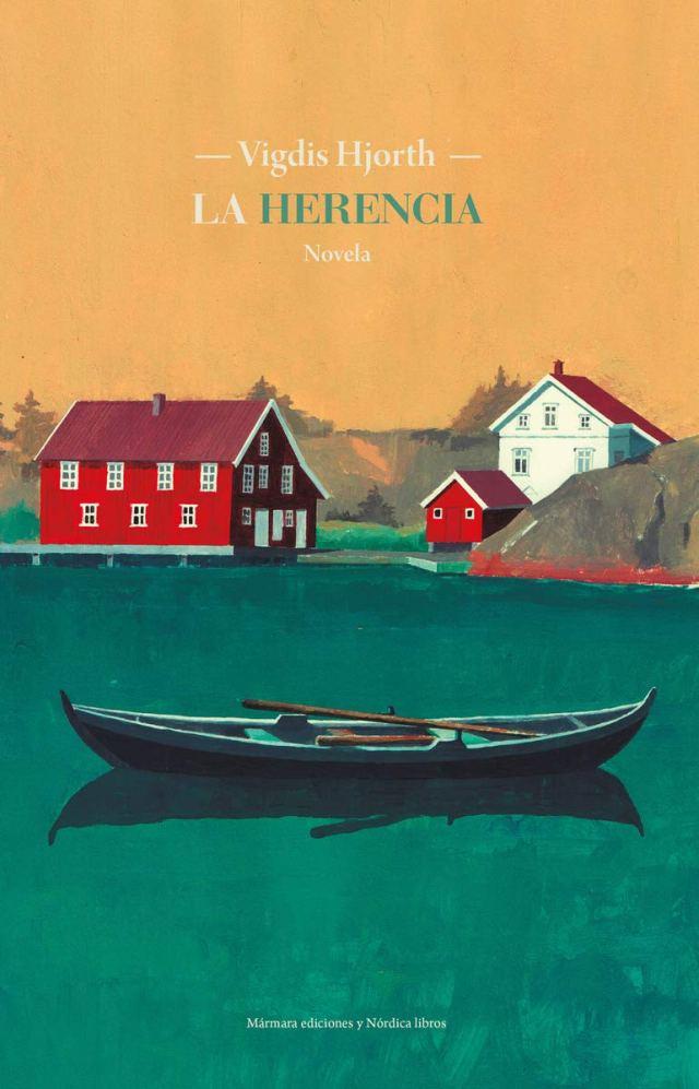 la herencia portada de la novela vidgis hjorth