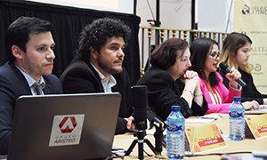 Ponentes del seminario sobre la Proposición de Ley en materia de concesión de la nacionalidad.