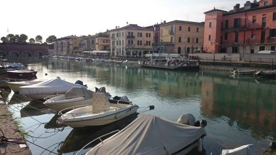 Qué ver en el Lago di Garda. Puerto en Peschiera. Peschiera, Sirmione y Desenzano.