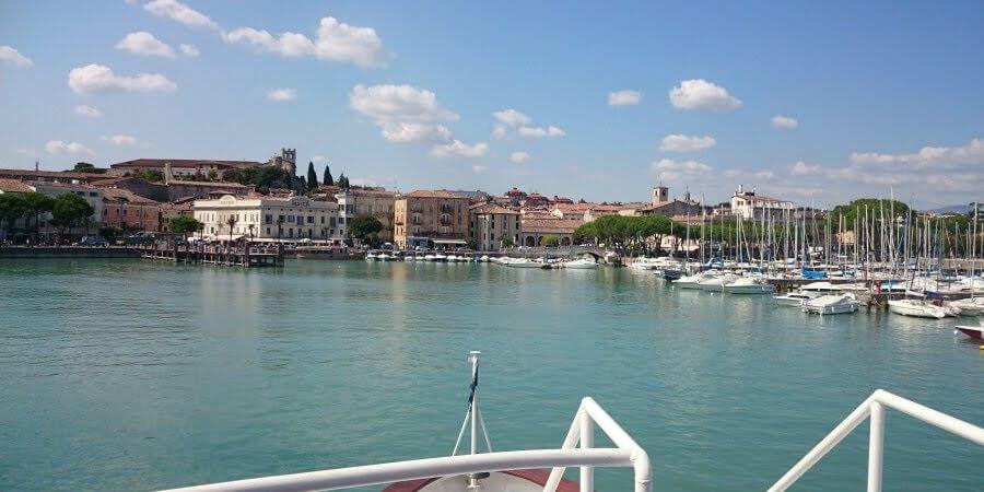 Y salió el sol para recibirnos.Un día en el Lago di Garda, Peschiera, Sirmione y Desenzano