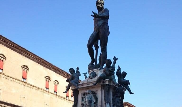 Qué ver en Bolonia. Fuente de Neptuno.