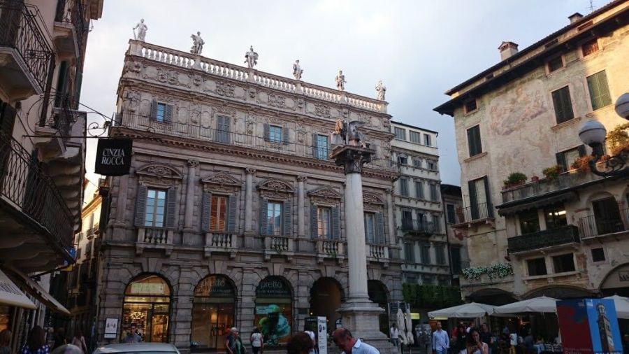 Palazzo Maffei. Qué ver en Verona en un día.