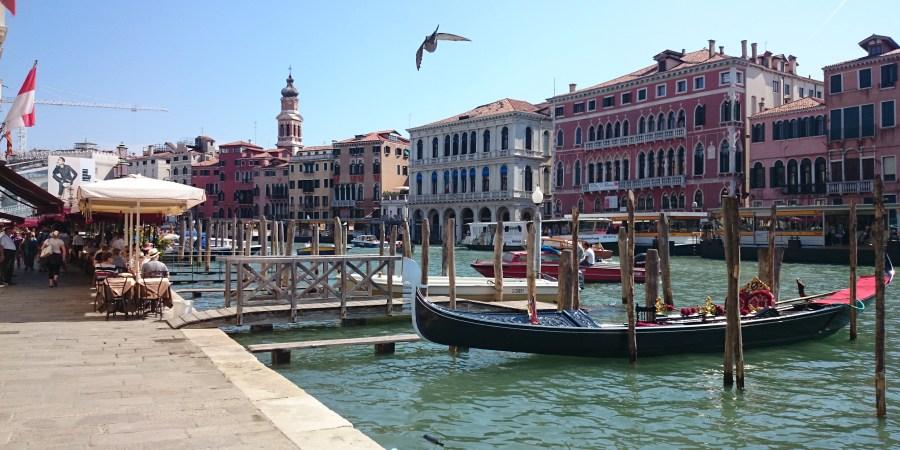 48 horas en Venecia. Gran Canal . Italia.