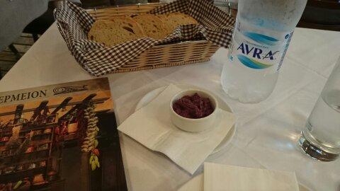 Aperitivo típico.Comida típica Grecia.