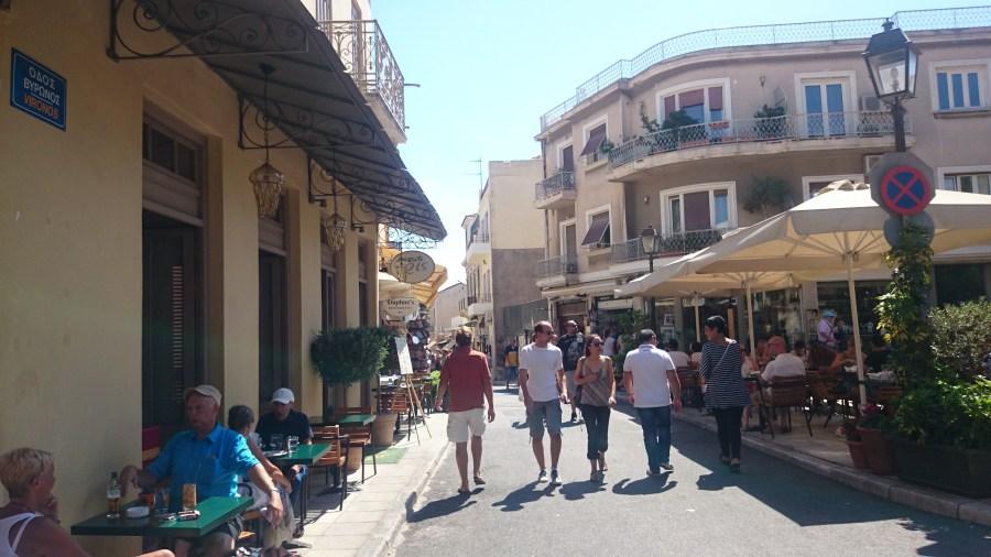 Donde comer en Atenas.