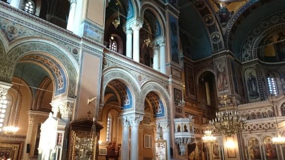 Centro de Atenas y Pireo.Mitropoli. Catedral de Atenas.