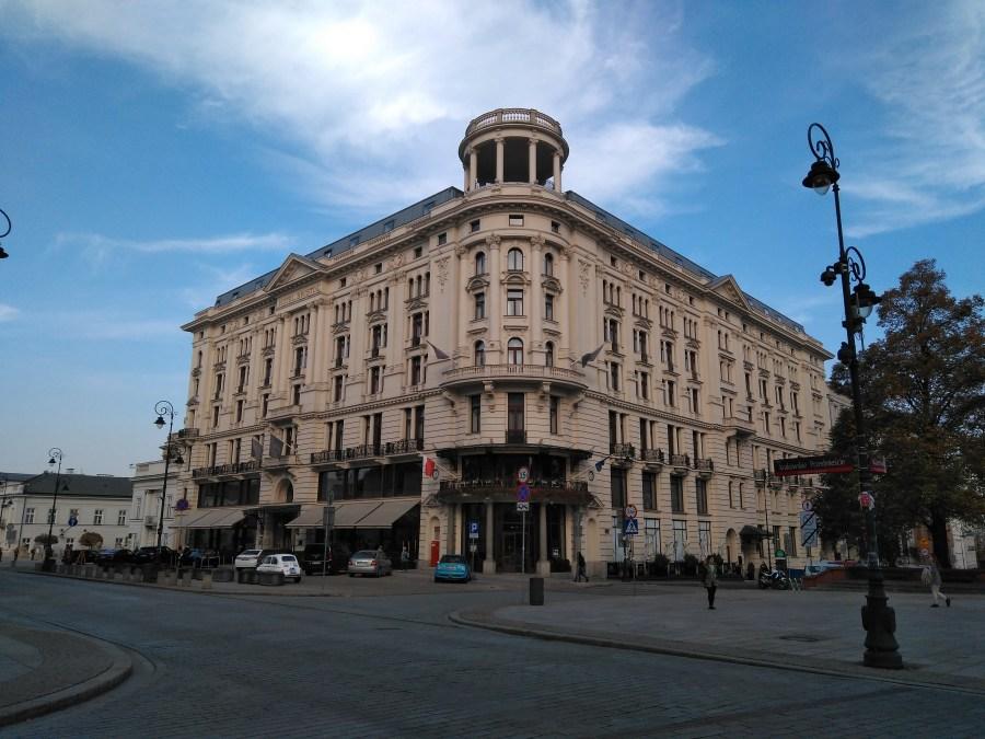 Qué ver en Varsovia. Hotel Bristol