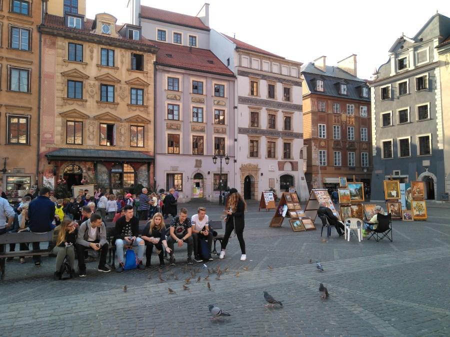 Qué ver en Varsovia. Plaza del Mercado