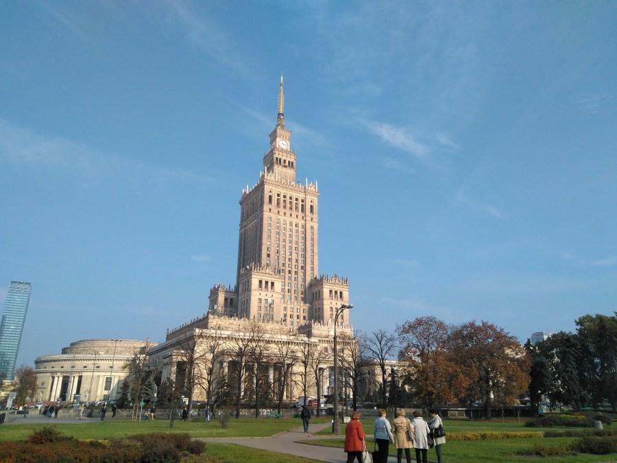 Qué ver en Varsovia. Palacio de la Cultura y la Ciencia.