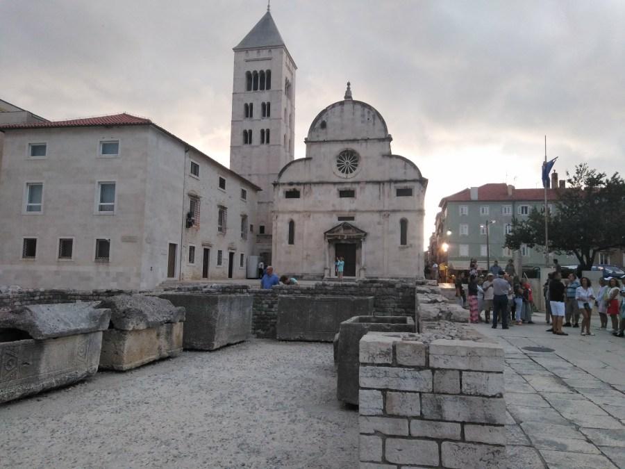 Iglesia de Santa María. Zadar. Croacia.