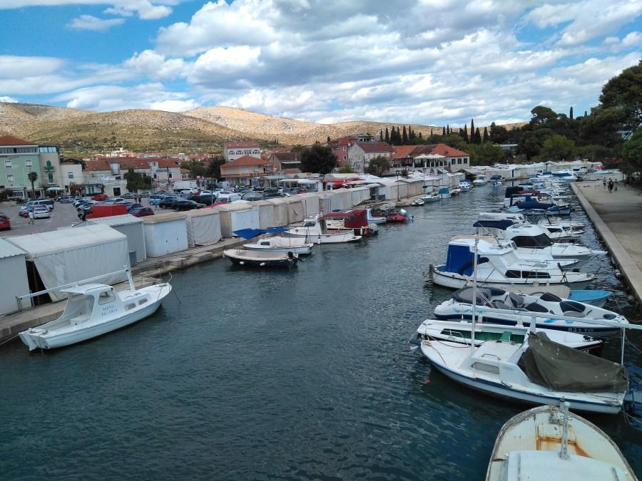 Puerto de Trogir. Croacia.