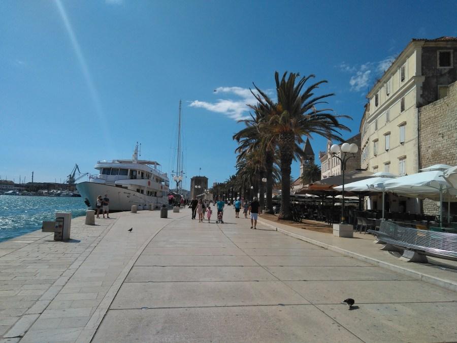 Sibenik y Trogir. Puerto de Trogir. Croacia.